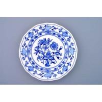 talíř  cibulák dezertní 19 cm český porcelán Dubí