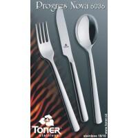 Příbory TONER Progres Nova jídelní sada  24 ks pro 6 osob nerez 6036