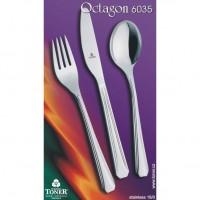 Lžíce jídelní TONER Octagon 1 ks nerez 6035