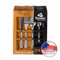 příbory Gastro Toner 24 dílů 6060