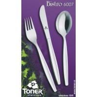 Nůž jídelní TONER Bistro 1 ks nerez 6007