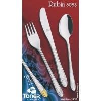 Lžíce jídelní TONER Rubín 1ks nerez 6083