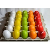 svíčka  vejce  12 ks Akce -20% Krab