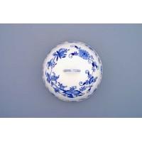 Cibulák Cloche poklop na potraviny 20 cm originální cibulákový porcelán Dubí, cibulový vzor, 1.jakost