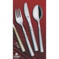 Vidlička jídelní  TONER Art Gold zlacená 1 ks nerez 6065