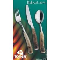 Příbory Toner Hubert pravé paroží sada  pro 6 osob 24 ks