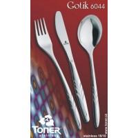 Lžička kávová Toner Gotik 1 ks nerez 6044