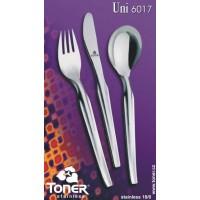 Příbory Toner Uni sada 24 dílů pro 6 osob 6017