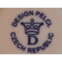 Stojánek na ubrousky Bohemia White - design prof. arch. Jiří Pelcl, cibulový porcelán Dubí 1. jakost